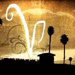 """""""V Beach"""" by Corinagallery"""