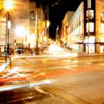 """Busy San Francisco Street on a Friday night"" by keithharding"