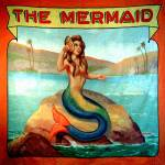 """Vintage Mermaid Carnival Poster Print"" by RebeccaKorpita"