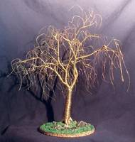 Winter Willow - Wire Tree Sculpture