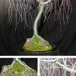 """GENTLE WILLOW  -Wire Tree Sculpture"" by WireTrees"