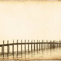 """Morning Pier"" by Skip Nall"