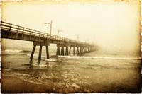 Pier In A Storm