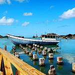 """Caribbean - Antigua Dock"" by susansartgallery"