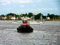 Tugboat Bow Norfolk VA