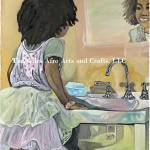 """""""What she see is what she will be.small"""" by timgilesafroartsandcrafts"""