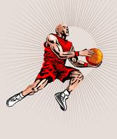 Basketball Player Jumping