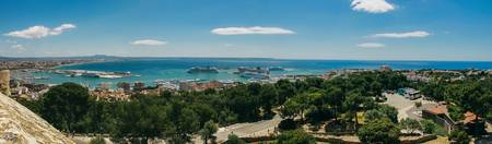 Palma de Majorca - panorama view from Bellver Cast