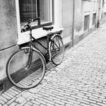 """Bicycle on Cobblestones"" by Groecar"