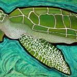 """Green Sea Turtle"" by ArtPrints"