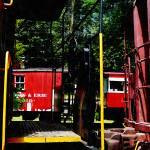 """Morristown And Erie Caboose"" by susansartgallery"