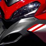 """""""Red and White Ducati Motorcycle"""" by ben-eisenberg"""