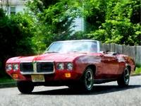 Red Firebird Convertible