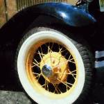 """Car Wheel Closeup"" by susansartgallery"
