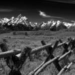 """_MG_2695.Buffalow Valley rail fence.1.B&W"" by SamSherman"