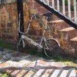 """Folding Bicycle Antigua"" by susansartgallery"
