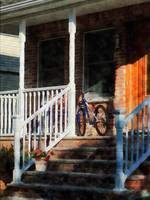 Bicycle On Porch