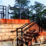 """Bicycle By Train Station"" by susansartgallery"