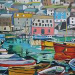 """cornish harbour 2"" by emmacownie"