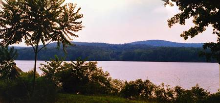 Connecticut River At Sunset Panoramic