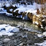 """""""Wintry brook"""" by URSPIX"""