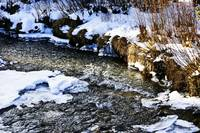 Wintry brook