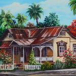 """004Trinidad house 1 350  enh"" by cassiakdkb"