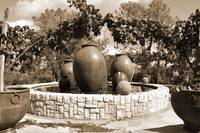Fountain urns