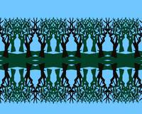 Tree Design Abstract