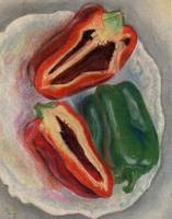 A Plate of Peppers