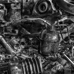 """Metal and oil"" by maldonadophoto"