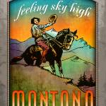 """Montana Poster ""Big Sky Country"""" by ArmenKojoyian"