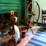 """Large Spinning Wheel"" by susansartgallery"