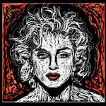 """Madonna Ciccone"" by GerhardtIsringhaus"