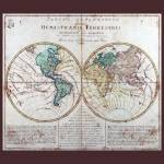 """World  Map AD 1760 with Matching Small Border"" by TheNorthernTerritory"