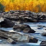 """Cossatot Falls"" by mblaisdellphoto"