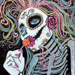 """Sugar Skull Lollipop"" by ArtPrints"