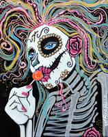 Sugar Skull Lollipop