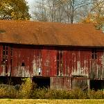 """Red Barn"" by GeorgeElliottPhotos"