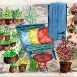 """med courtyard"" by arlene72"