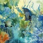 """""""Undersea Green"""" by rose1"""