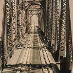 """Fort Smith Frisco Bridge-02"" by EmeraldReflection"