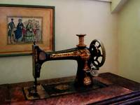 Sewing Machine And Lithograph