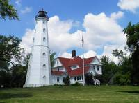 Summer at North Point Light house