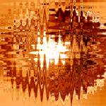 """""""Heat Wave - Abstract Art"""" by Groecar"""