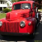 """red truck SAM 549"" by bigrock99"