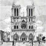 """peintures-original-notre-dame-paris"" by NicolasJolly"
