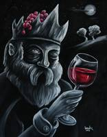 2012- Wine At The Moonlight 40x50