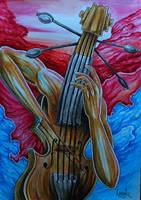 2013- The Violinist - size A3
