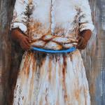 """""""LADY ROYAL SOUTHERN FOLK ART  CAFE DU MONDE"""" by kiphayes"""
